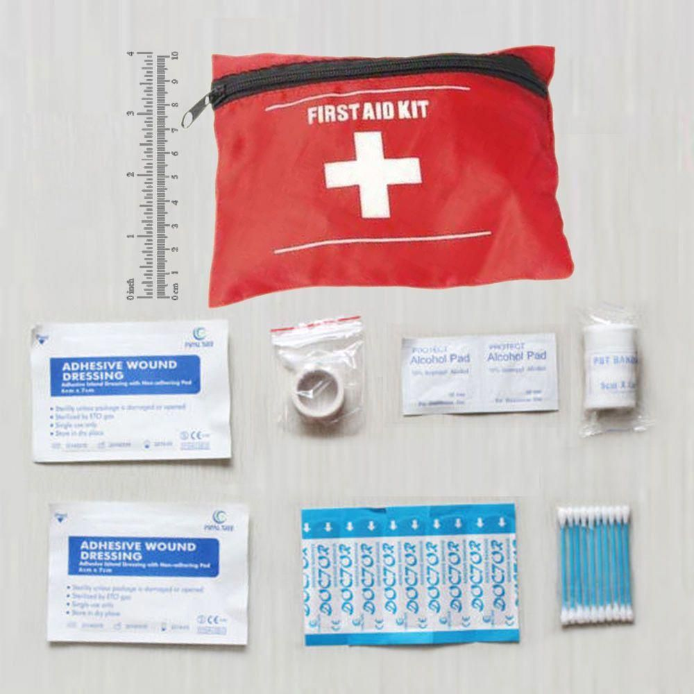 First Aid Kit Emergency Medical Pack For Camping #essentialsforcamping