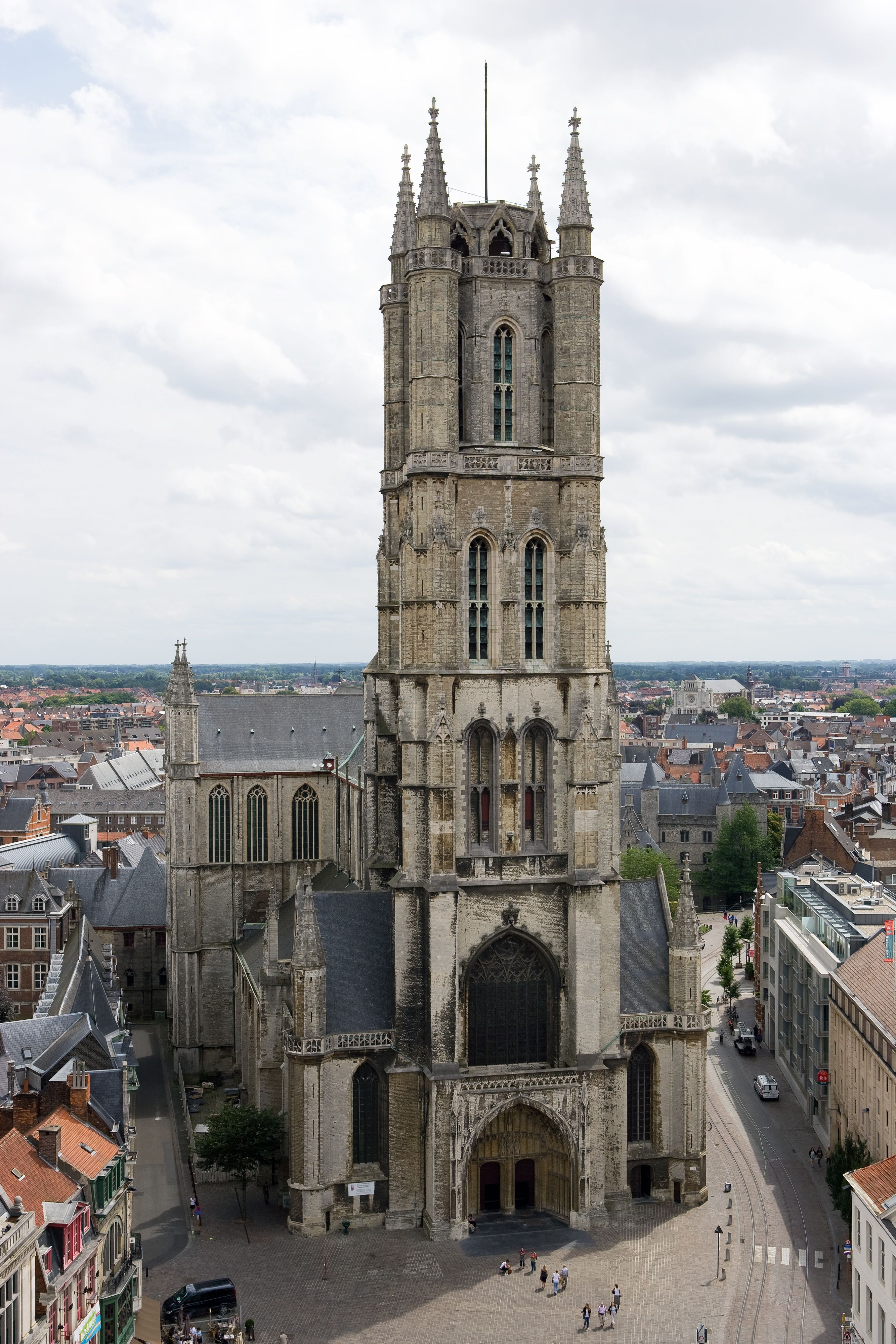 St Bavo's Cathedral Ghent. Belguim