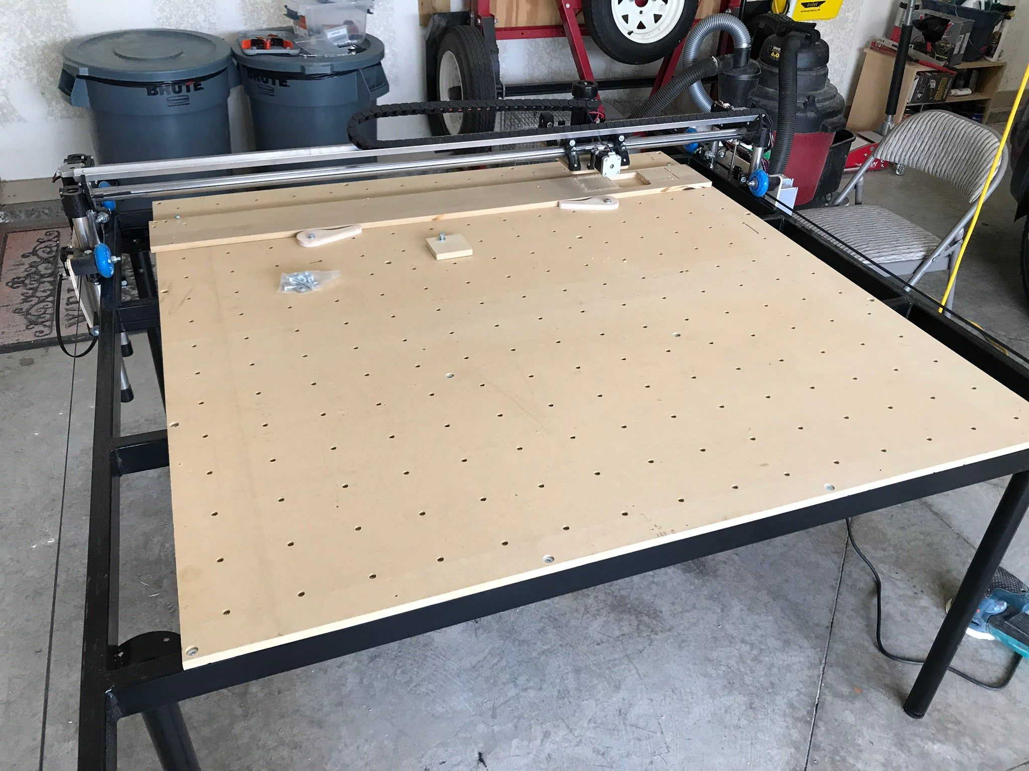LowRider CNC Full Sheet 4x8 CNC Router by swholmstead in