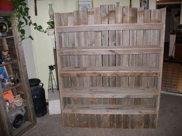 Love The Dvd Shelf Dvd Shelves Rustic Bookshelf