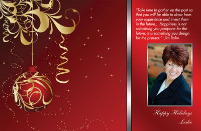 realtor christmas cards includes free customizing free shipping and tax all text can be edited to your personal holiday message - Realtor Christmas Cards