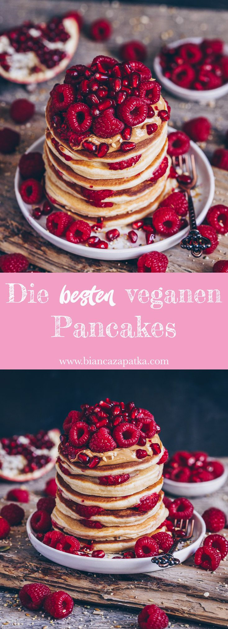 Die besten veganen Pancakes - Bianca Zapatka   Rezepte
