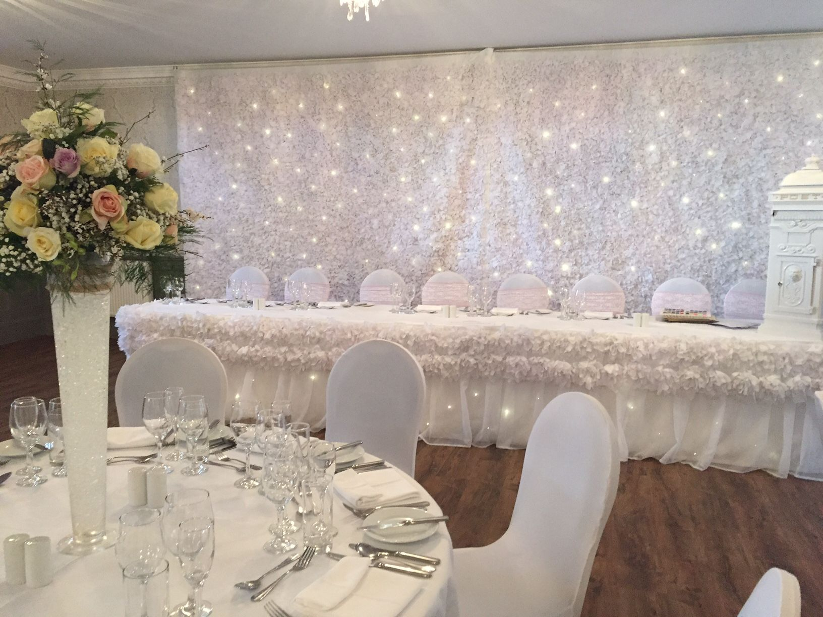Inglewood House Ballroom Wedding Set Up Weddingvenue Scotland