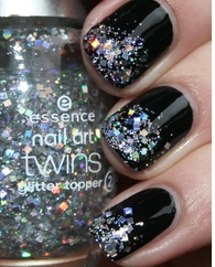 I guess I'm really into glitter right now..