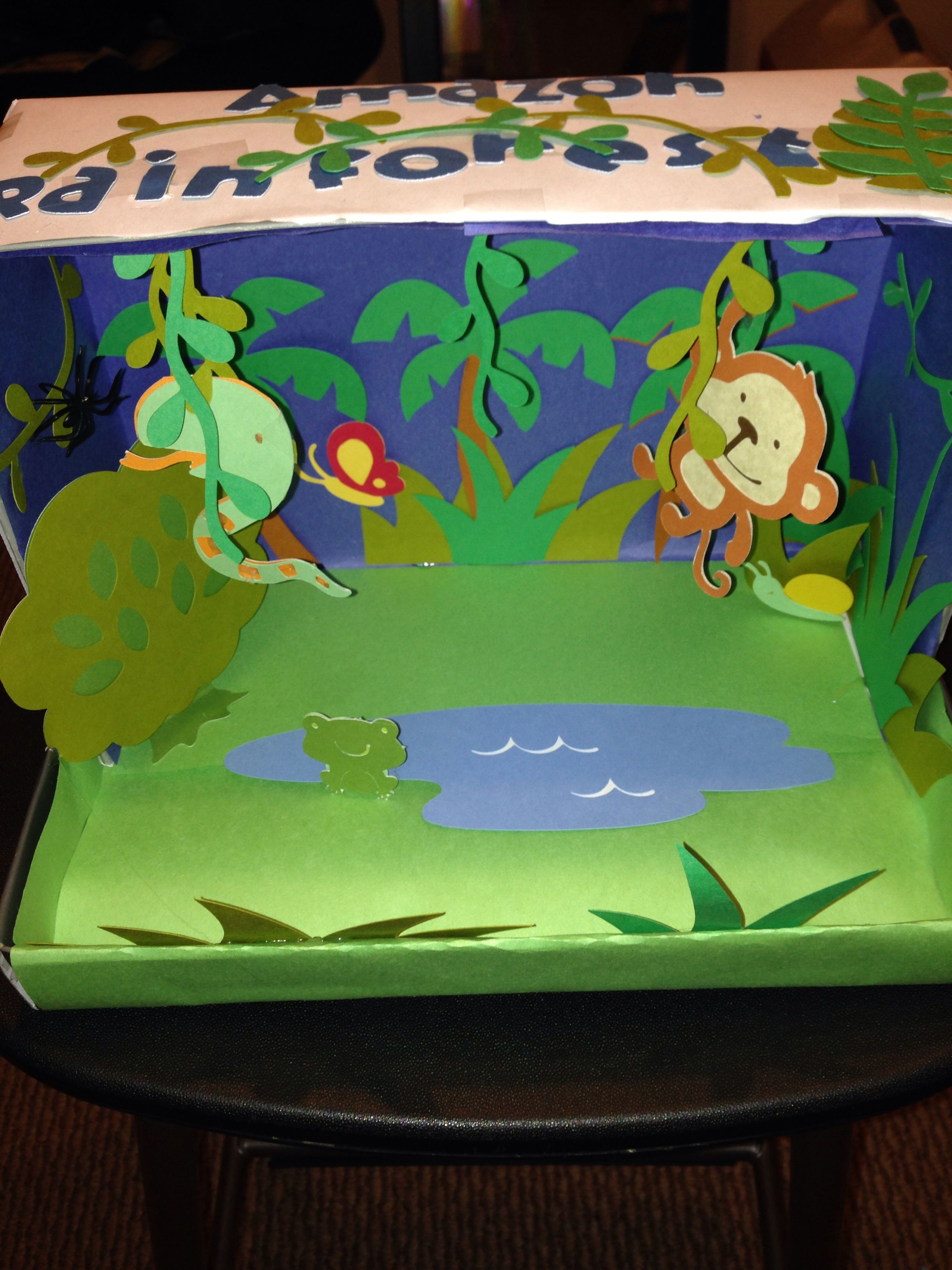 Kids Diorama With Details: Learning Games For
