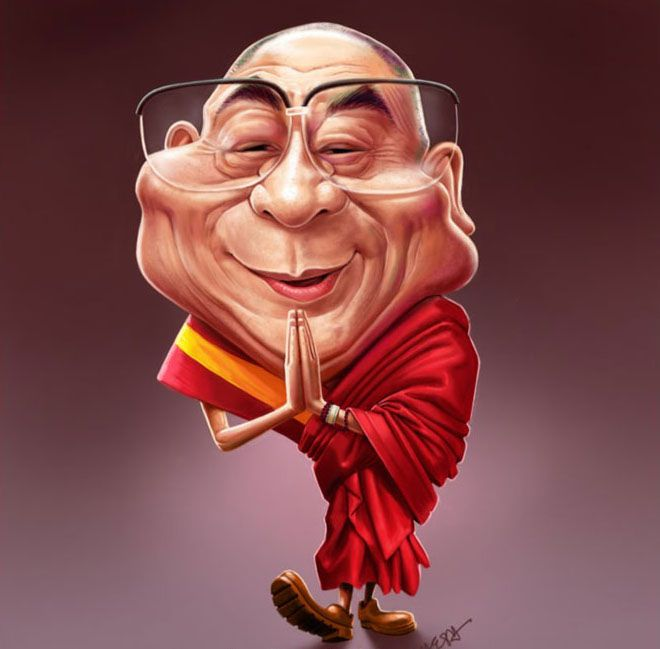 25 Creatively Awesome Caricatures of Famous People