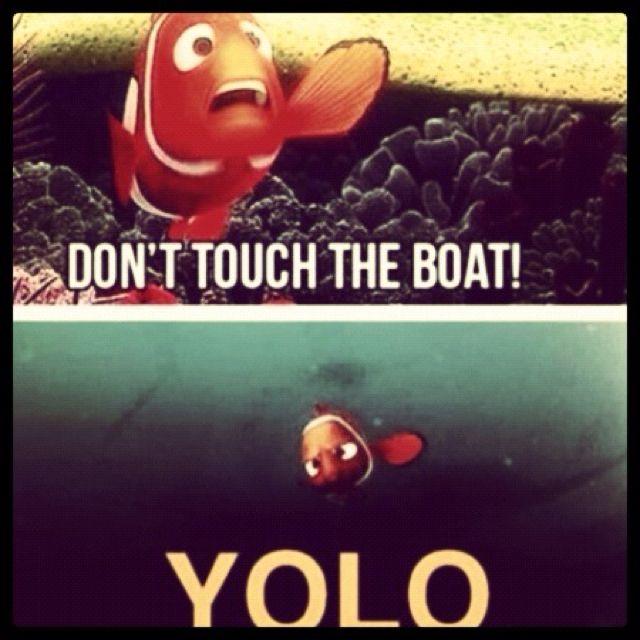 #YOLO Finding nemo
