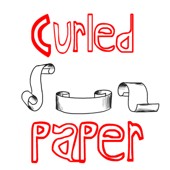 How To Draw Paper Curls Or Curled Paper Scrolls Or Banners In Easy Steps Tutorial How To Draw Step By Step Drawing Tutorials How To Draw Steps Drawing Tutorial How