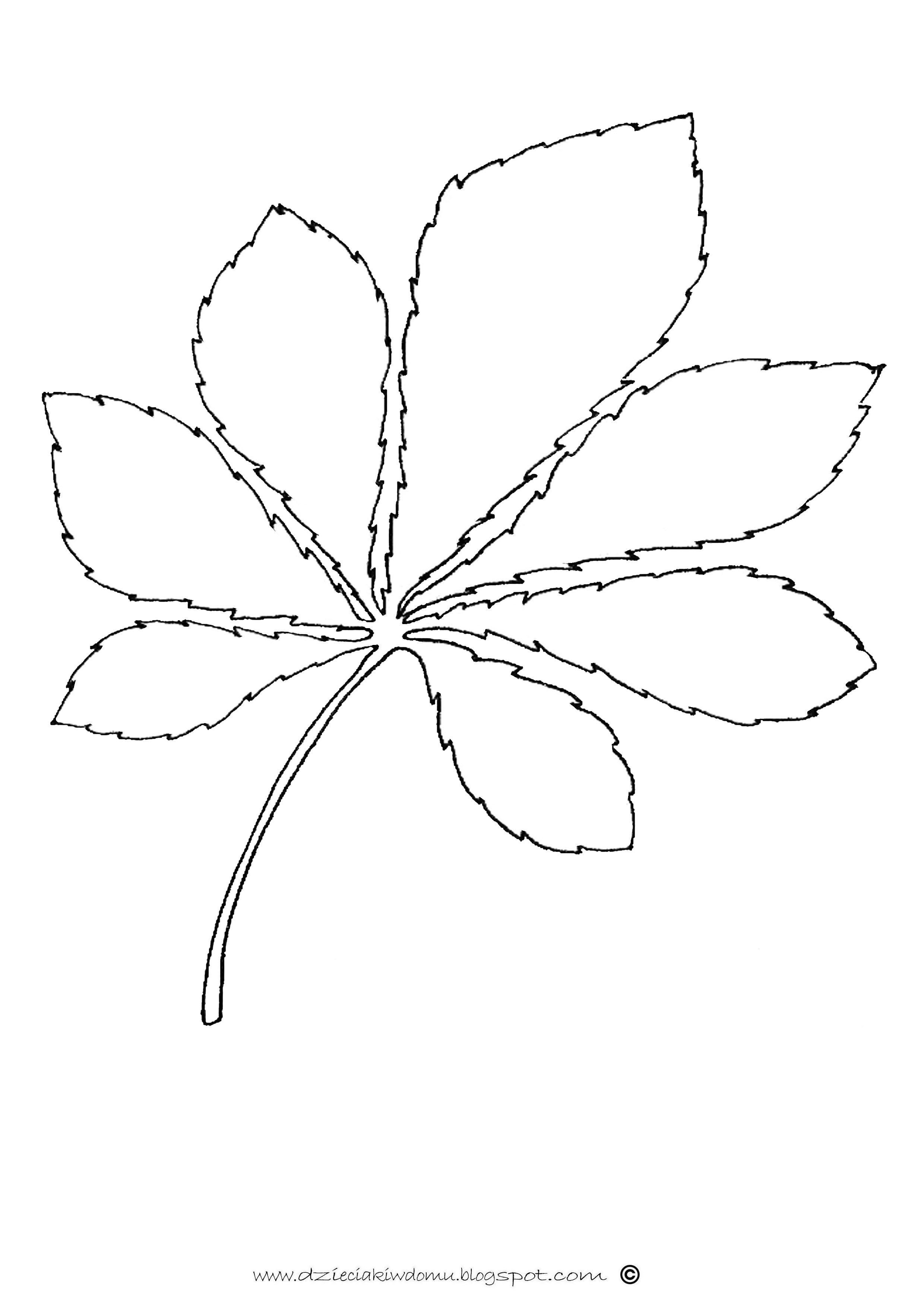 Lisc Kasztanowca Www Dzieciakiwdomu Blogspot Com Quilt Patterns Diy And Crafts Stencils