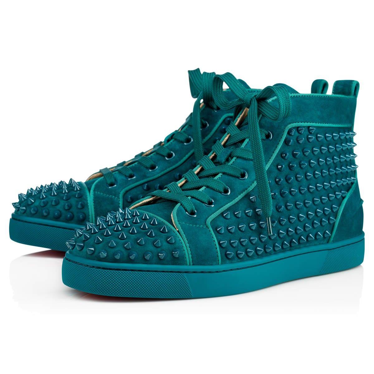 Shoes - Louis Orlato Spikes Men\u0027s Flat - Christian Louboutin