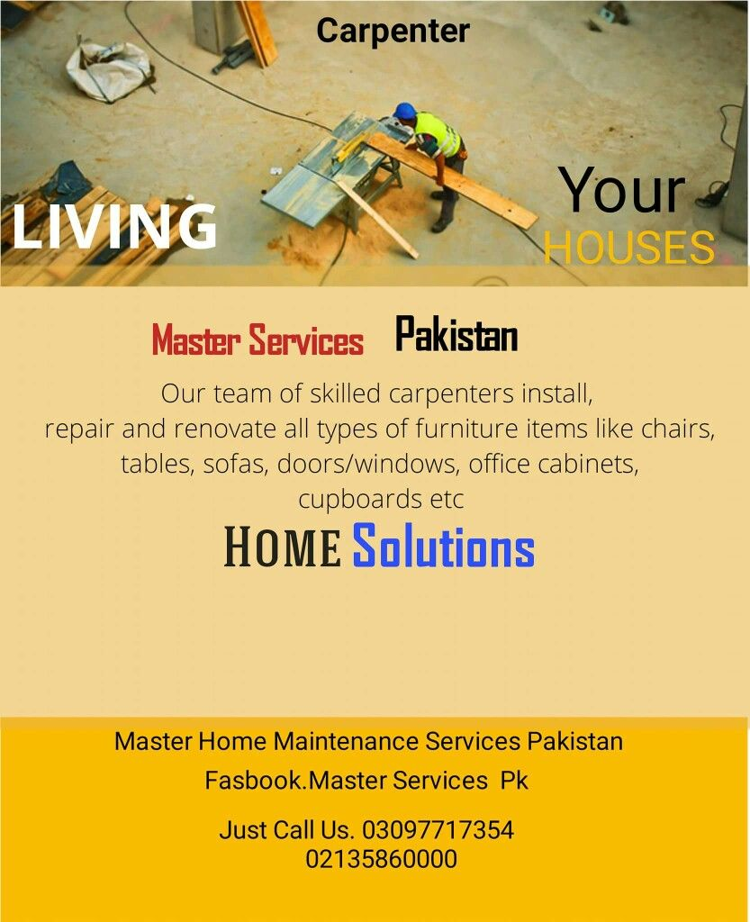 Pin by master services pk on master home maintenance services