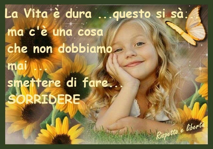 ...sorridere....