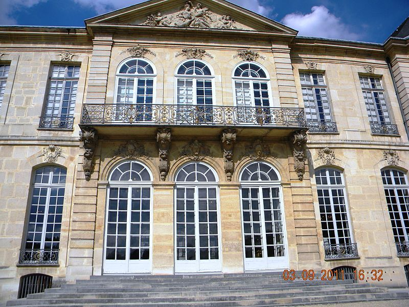 H U00f4tel Biron  Actuel Mus U00e9e Rodin   Facade  D U00e9tail  77 Rue