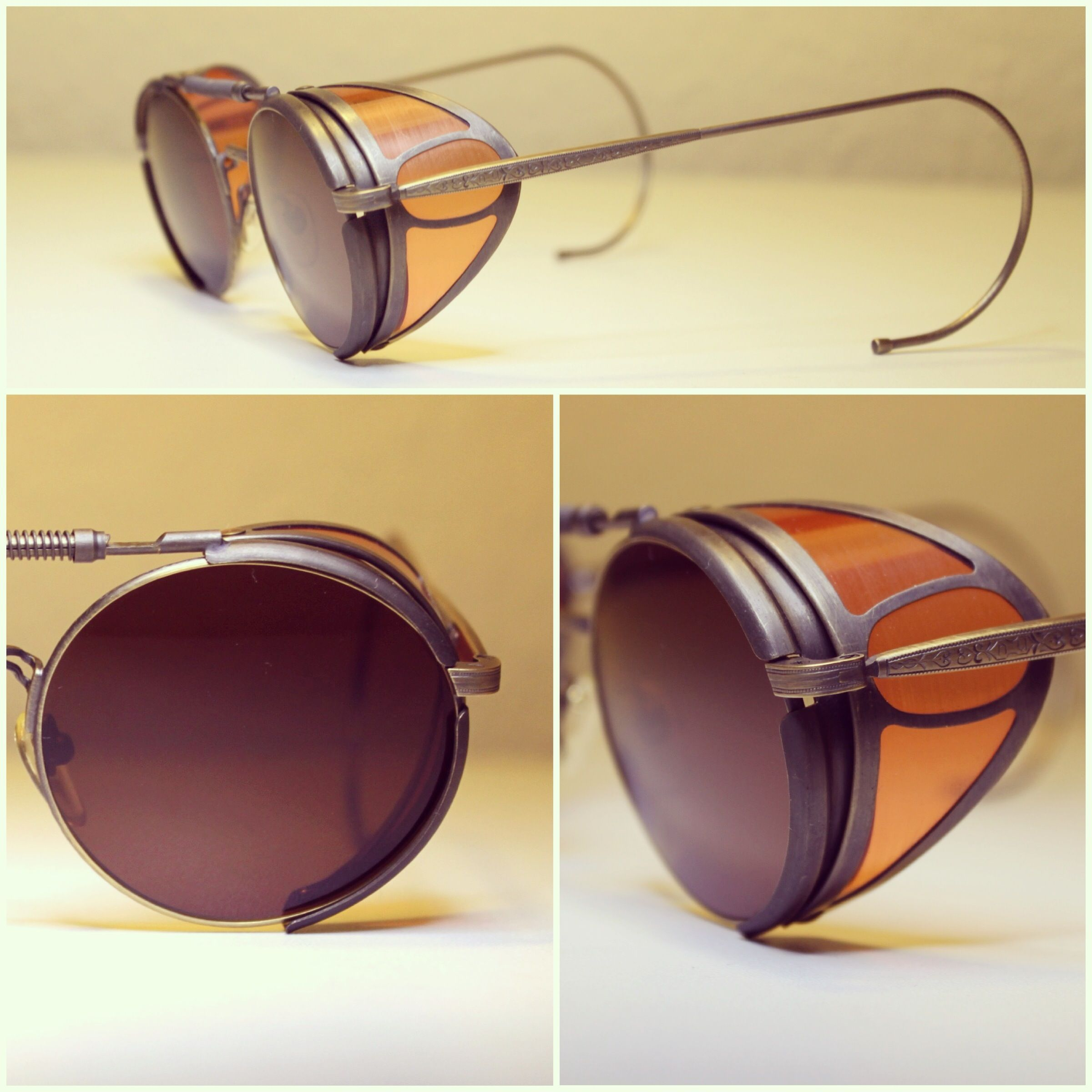 bb2568b54d490b Vintage Matsuda Sunglasses Terminator 2 Sarah Conner Steampunk Lunette Retro,  Lunettes De Soleil, Accoutrement
