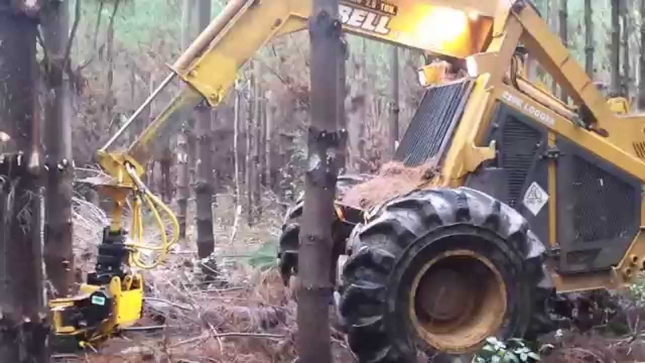 See the video of the Bell Logger in action with our Felling Grapple GMT 035! #trees #sawing #skidder