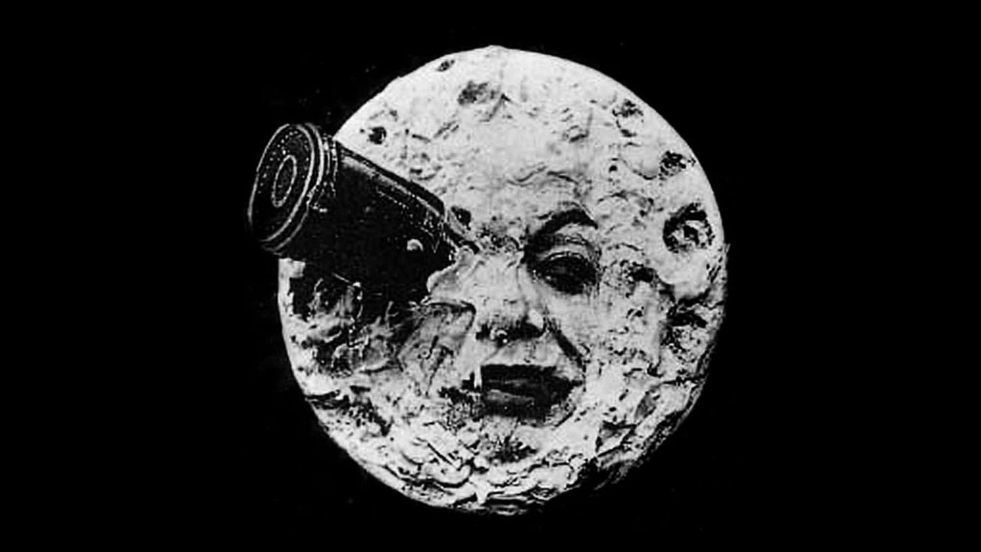 A Trip To The Moon 1920x1080 Movies Moon Silent Film