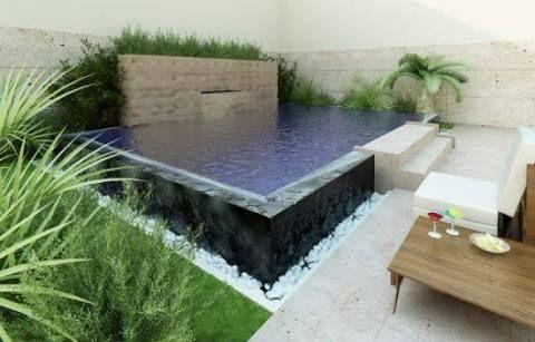 jardins com piscinas pequenas - Recherche Google Piscine