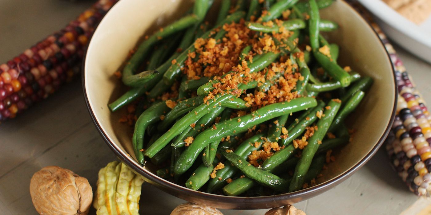 Oregonian food day thanksgiving recipes Green Beans Five Ways Oregonian Recipes Thanksgiving Recipes Side Dishes Side Dish Recipes Salad Side Dishes