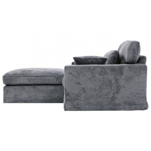 Bankstel Falcor III met pouffe (€690) ❤ liked on Polyvore featuring home, furniture, ottomans, sofa and moveis