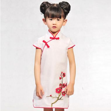 Cheongsam For Kids Inese Traditional Dress Free Shipping New