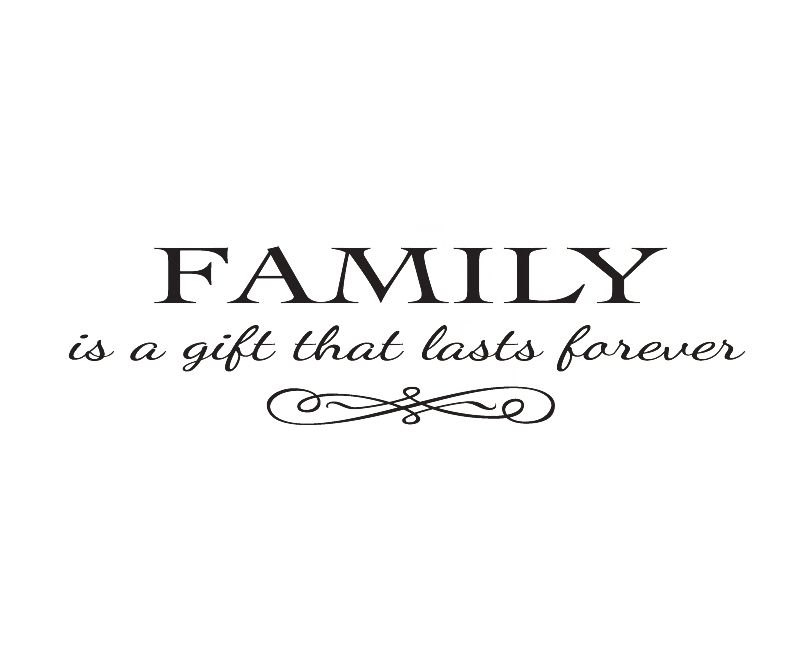 Love Family Quotes Extraordinary Wall Decal Font B Quote B Font Sticker Vinyl Art Lettering Removabl