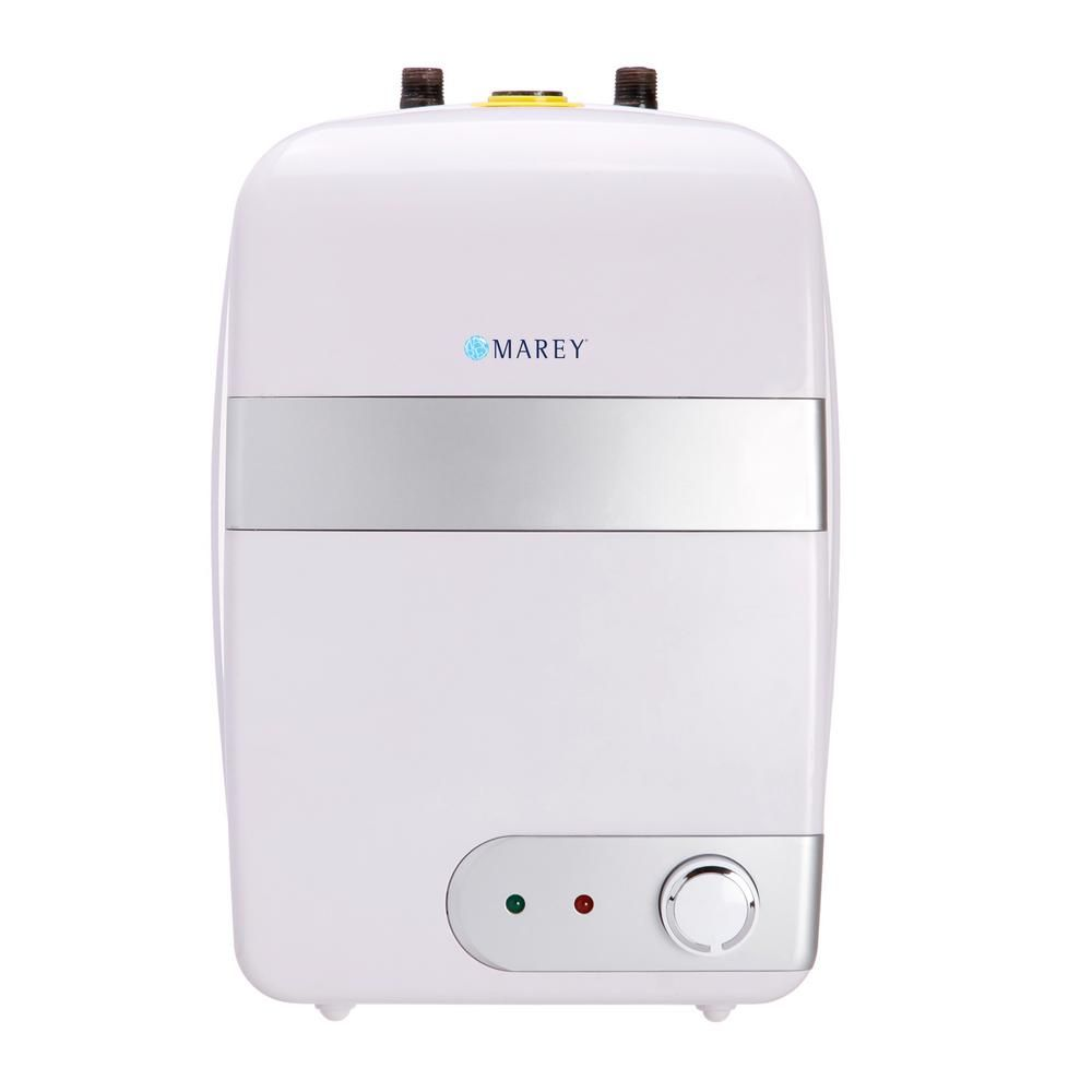 Marey 6 0 Gal Point Of Use Residential 110 120v Etl Certified Residential Point Of Use Electric Mini Tank Water Heater Tank23l Solar Charger Solar Energy Solar