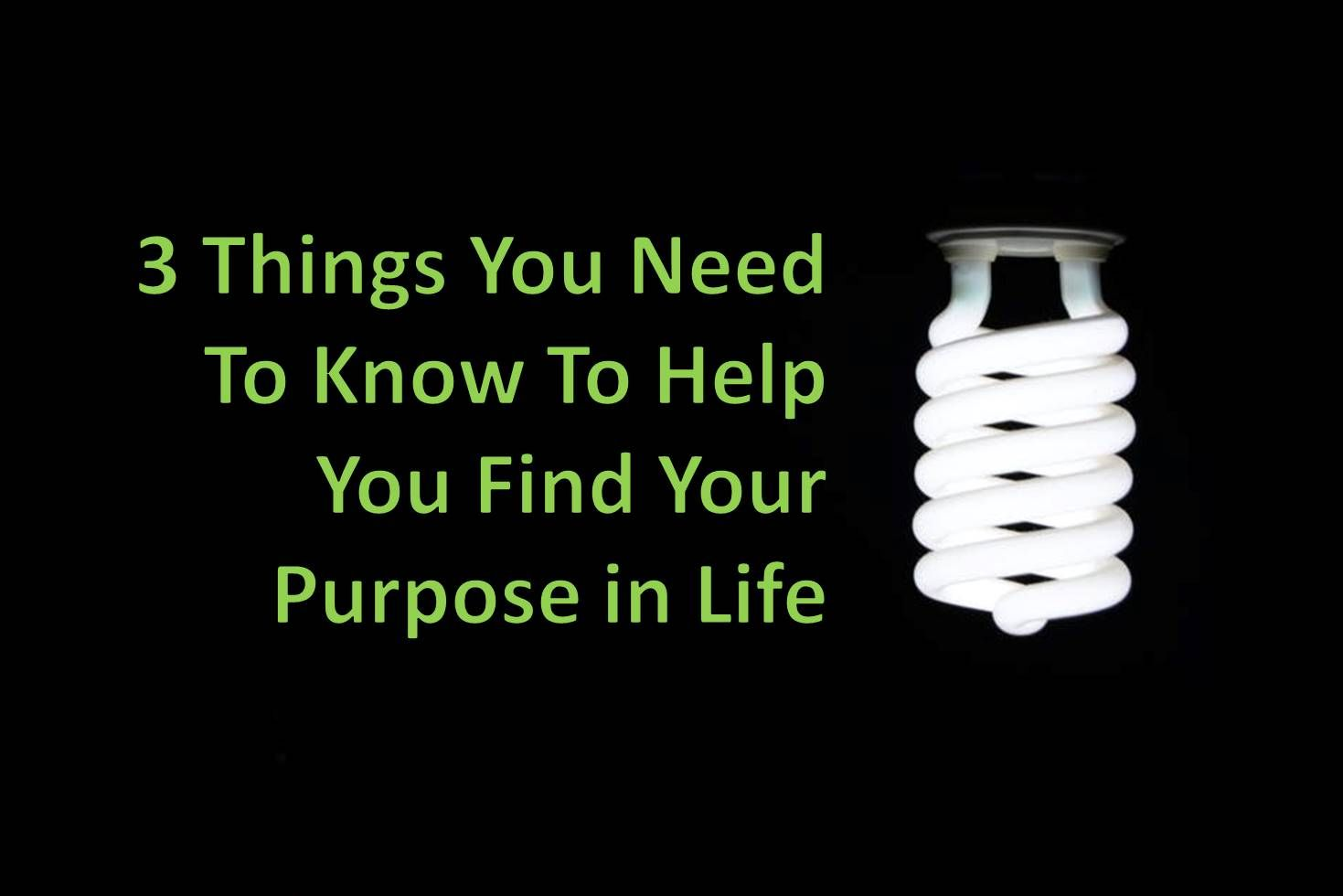 Your Purpose With Images