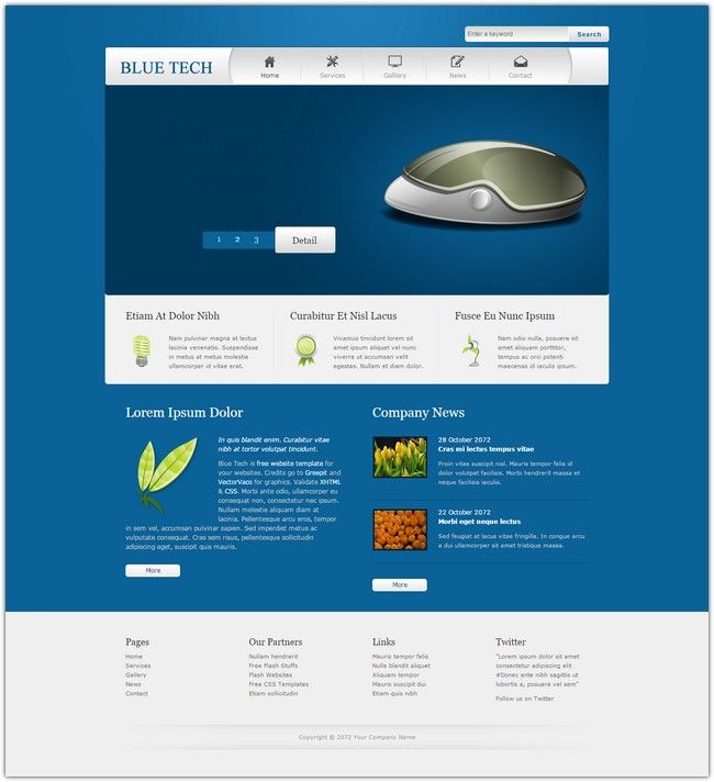dream weaver web templates