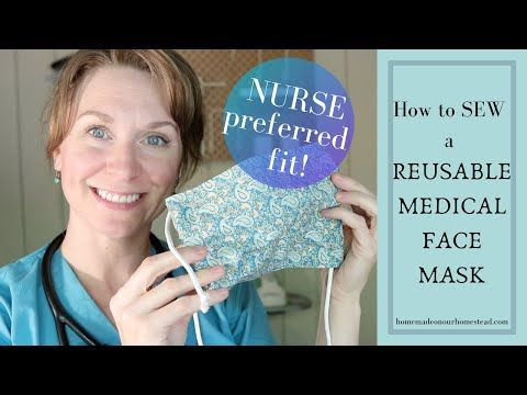 Photo of How to SEW a REUSABLE FACE MASK with FILTER POCKET// DIY Fabric Face mask // BATCH sew Medical mask