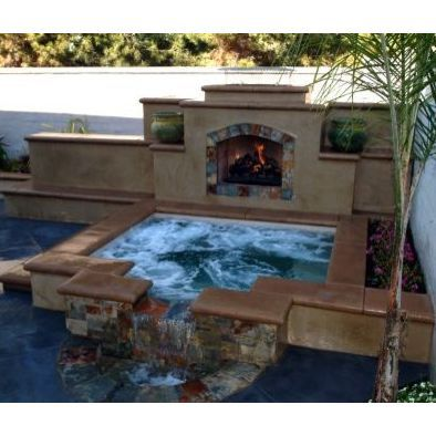Jacuzzi + Fireplace In Beautiful Downtown Riverside. #Riverside, CA  Www.riversidecarealestateagents.