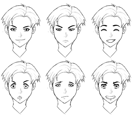 Drawing Manga Expressions And Emotions How To Draw Step By Step Drawing Tutorials Facial Expressions Drawing Face Drawing Eye Drawing