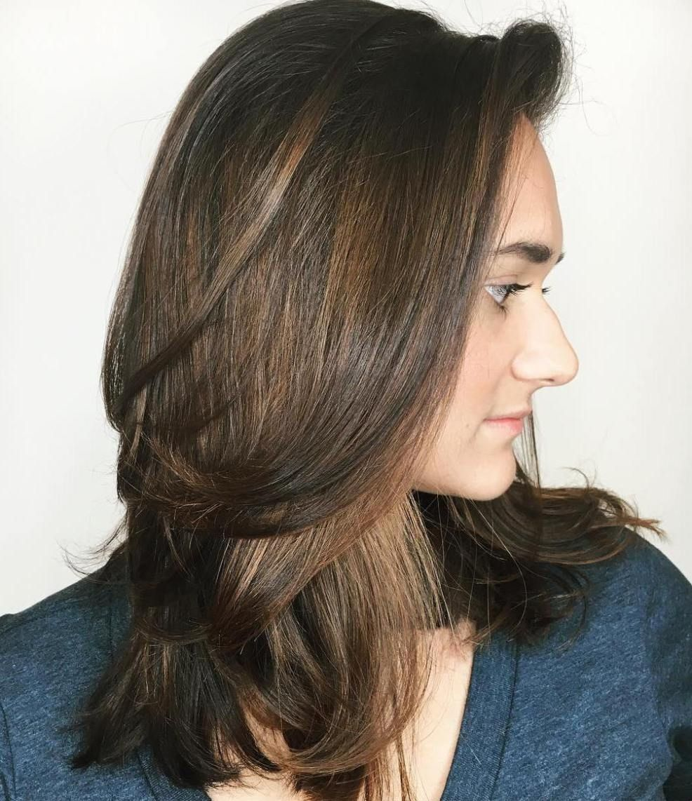 most beneficial haircuts for thick hair of any length shoulder