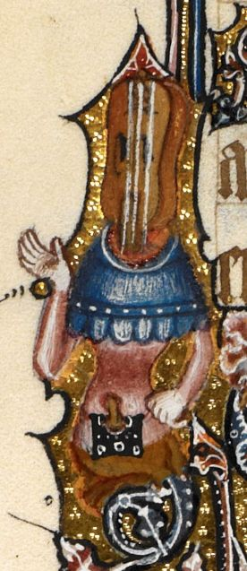 Detail Egerton MS 3277 Date 2nd half of 14th century  Title Psalter and Hours (the 'Bohun Psalter') f.153v