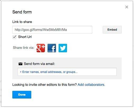 Nueva actualización de Google Forms incluye varias novedades como - spreadsheet google form