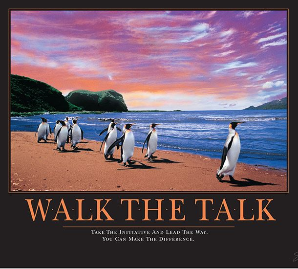 inspirational posters for office. Walk The Talk Motivational Poster Inspirational Posters For Office F