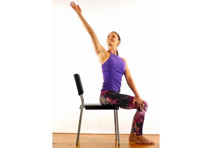 Pin On Chair Yoga