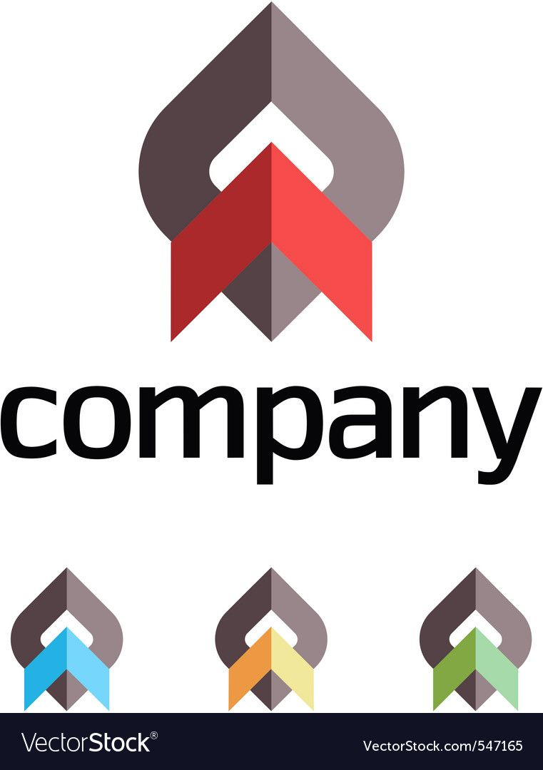 Company design element Royalty Free Vector Image