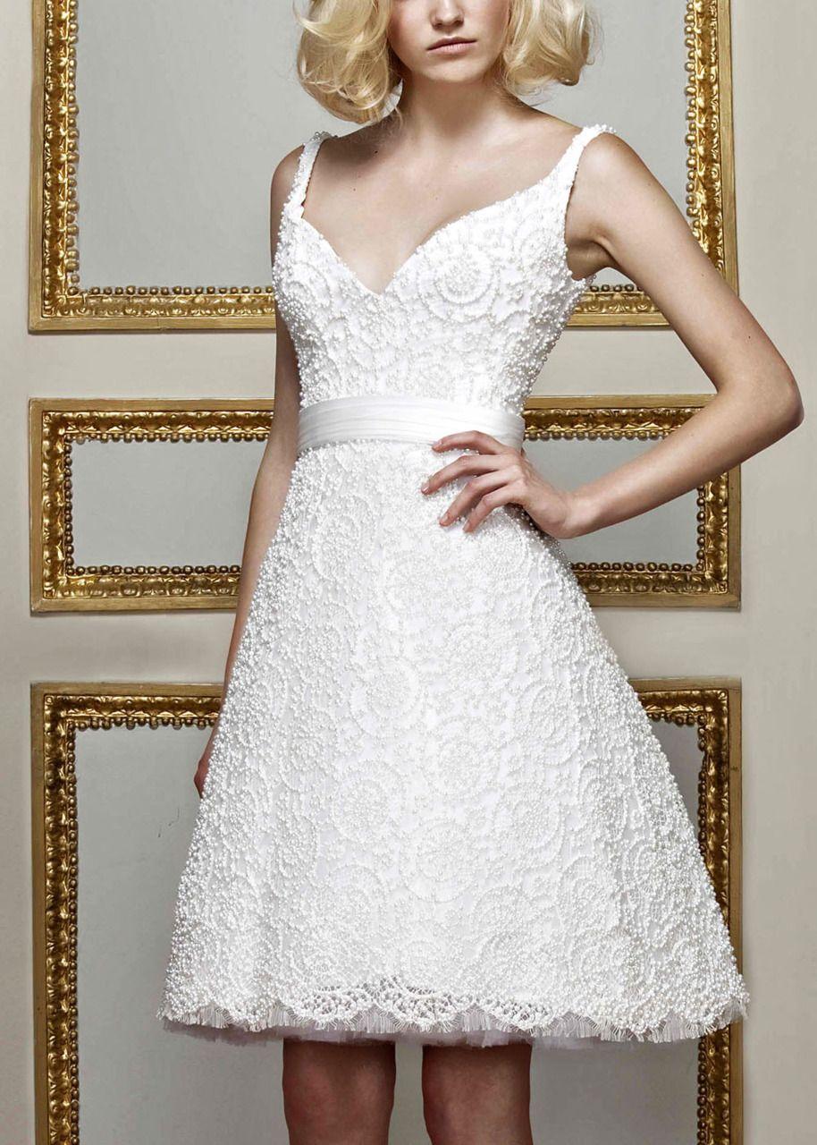Wedding reception dresses for bride  Haute Avenue Paris  White  Pinterest  Shorts Feminine and