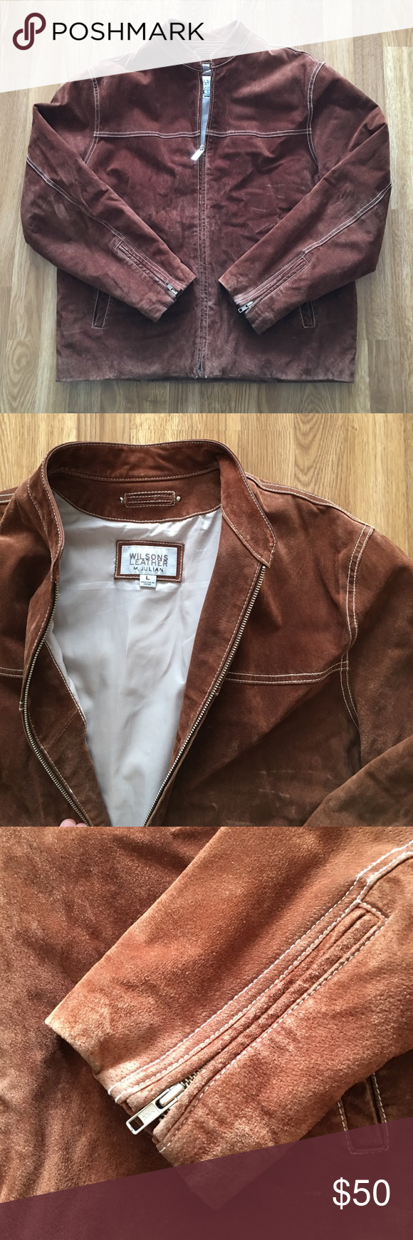 Men's Wilson Leather Suede Jacket This jacket is great