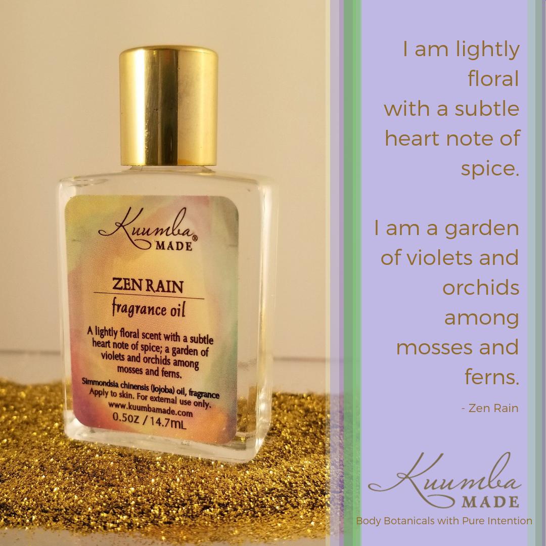 Zen Rain Fragrance Oil Fragrance Fragrance Oil Scent