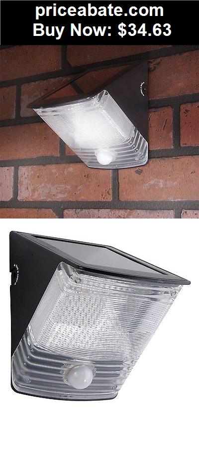 Farm-Garden: Solar Powered Motion Activated LED Flood Light Hanging Security Sensor Outdoor  - BUY IT NOW ONLY $34.63