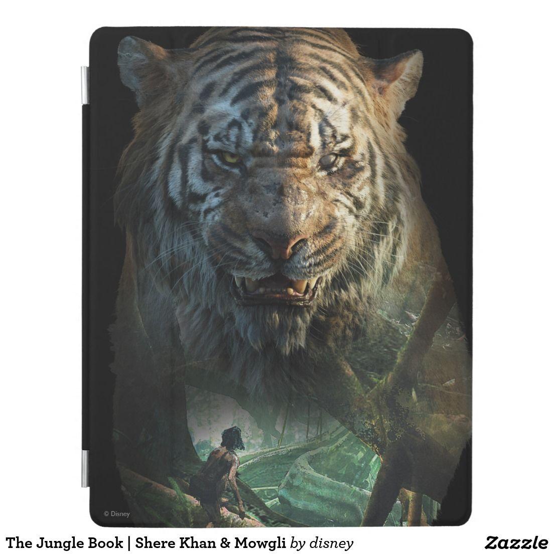 the jungle book | shere khan & mowgli ipad smart cover | jungle book