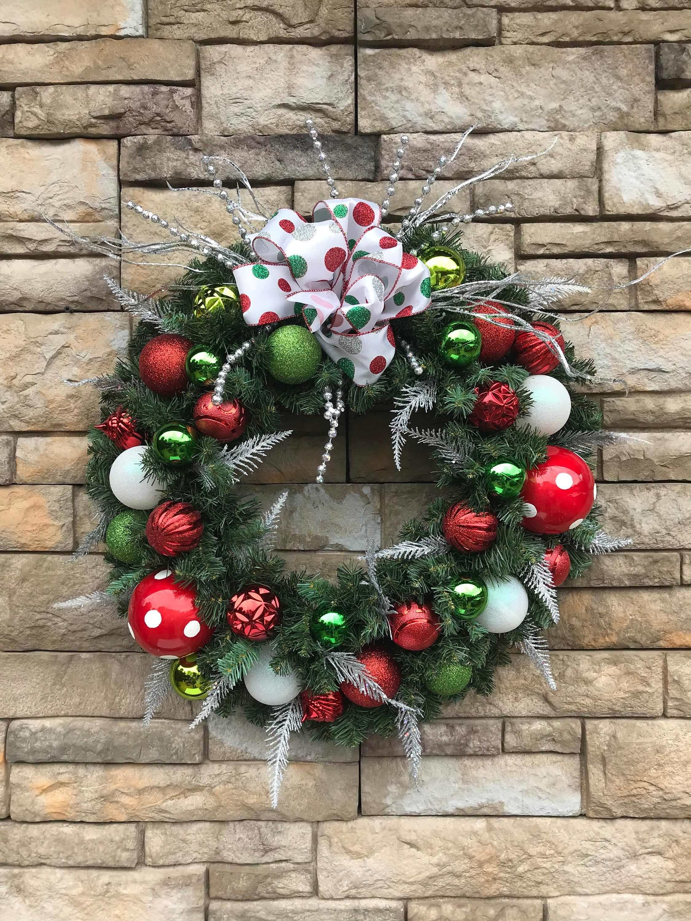Whoville Christmas Wreath Whoville Whimsy Silk Evergreen Christmas Decor Grinch Fro Christmas Wreaths Holiday Wreaths Christmas Christmas Decorations Ornaments
