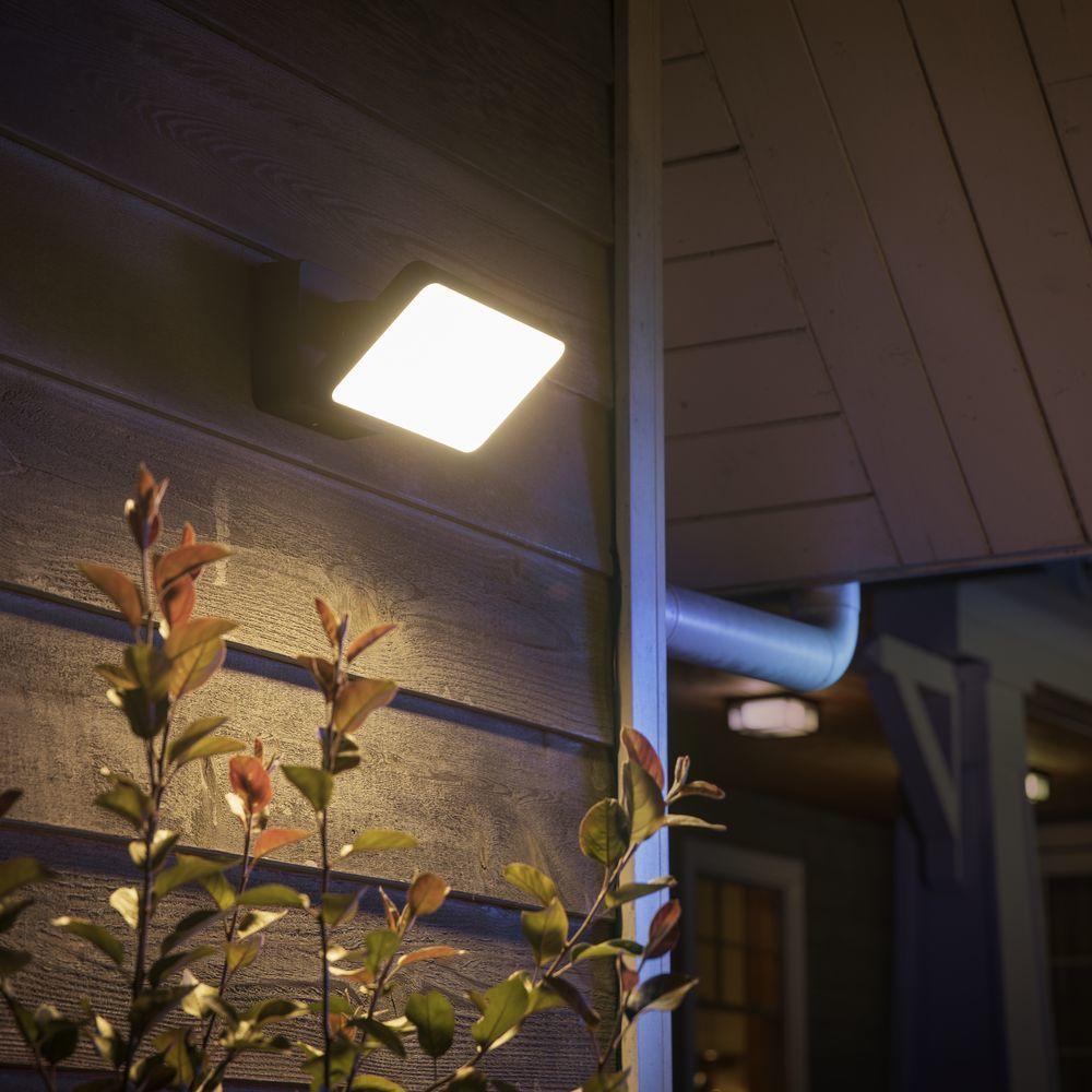 A Philips Hue White Color Ambiance Discover Flutlicht Schwarz Philips Hue 1743530p7 Wandleuchte Led Lampen Und Leuchten