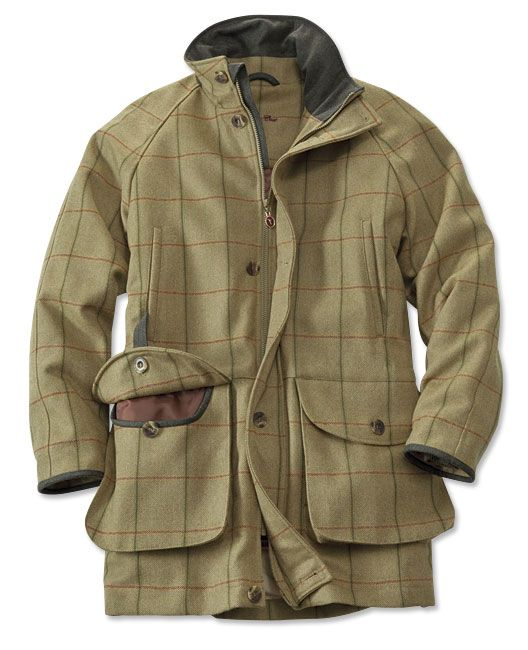 043e456d5969a Just found this Tweed Hunting Jacket - Glennon Tweed Waterproof Coat --  Orvis on Orvis.com!