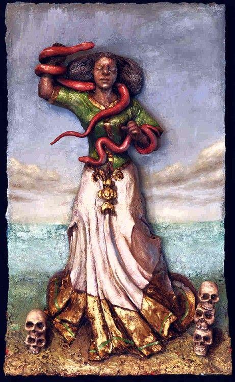 Mami Wata: also recognized Santa Marta La Dominadora!   The