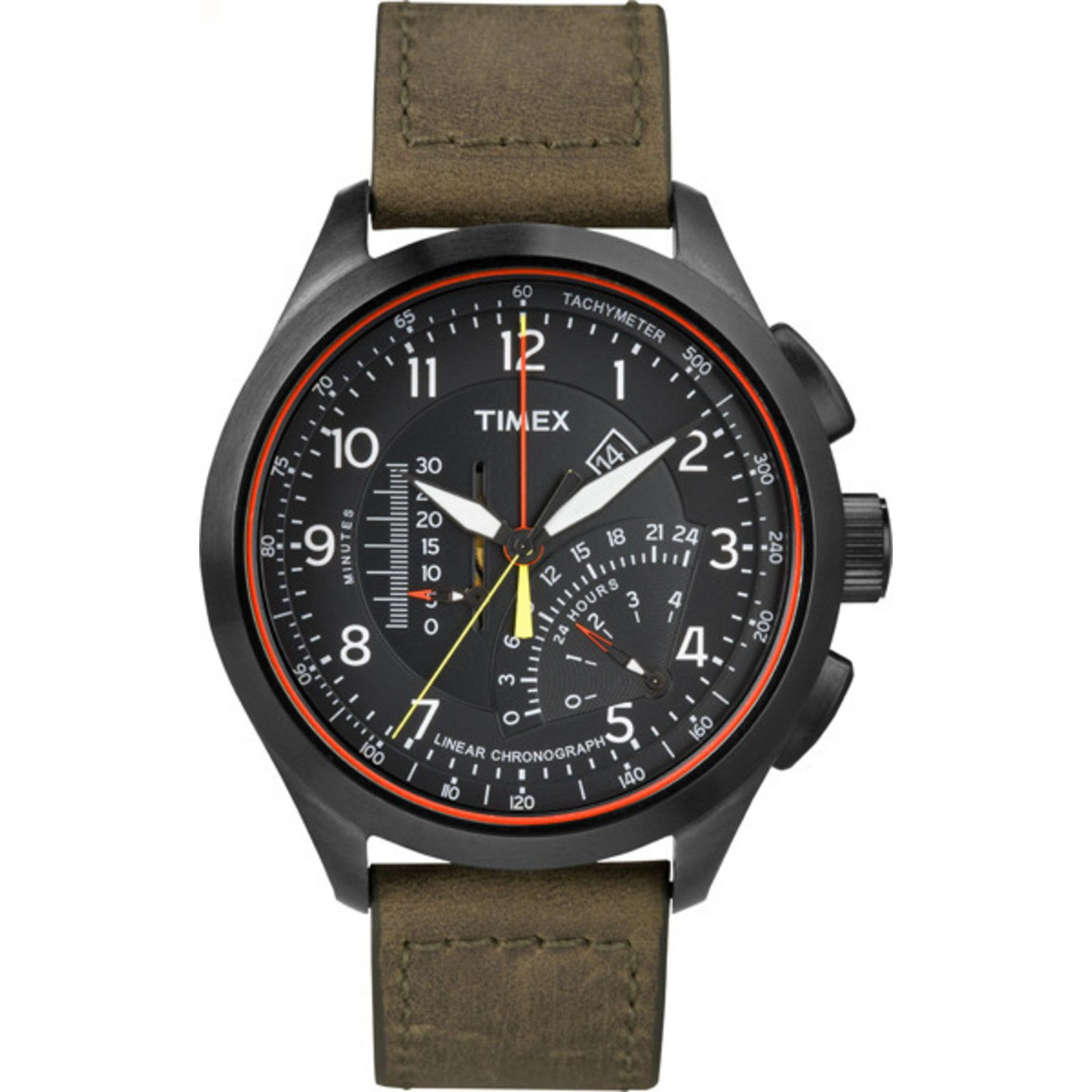 Intelligent Quartz Linear Chronograph  bd9d362d1735