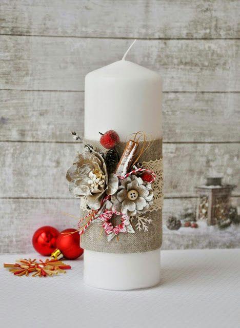 46+ Decoracion de velas navidenas trends
