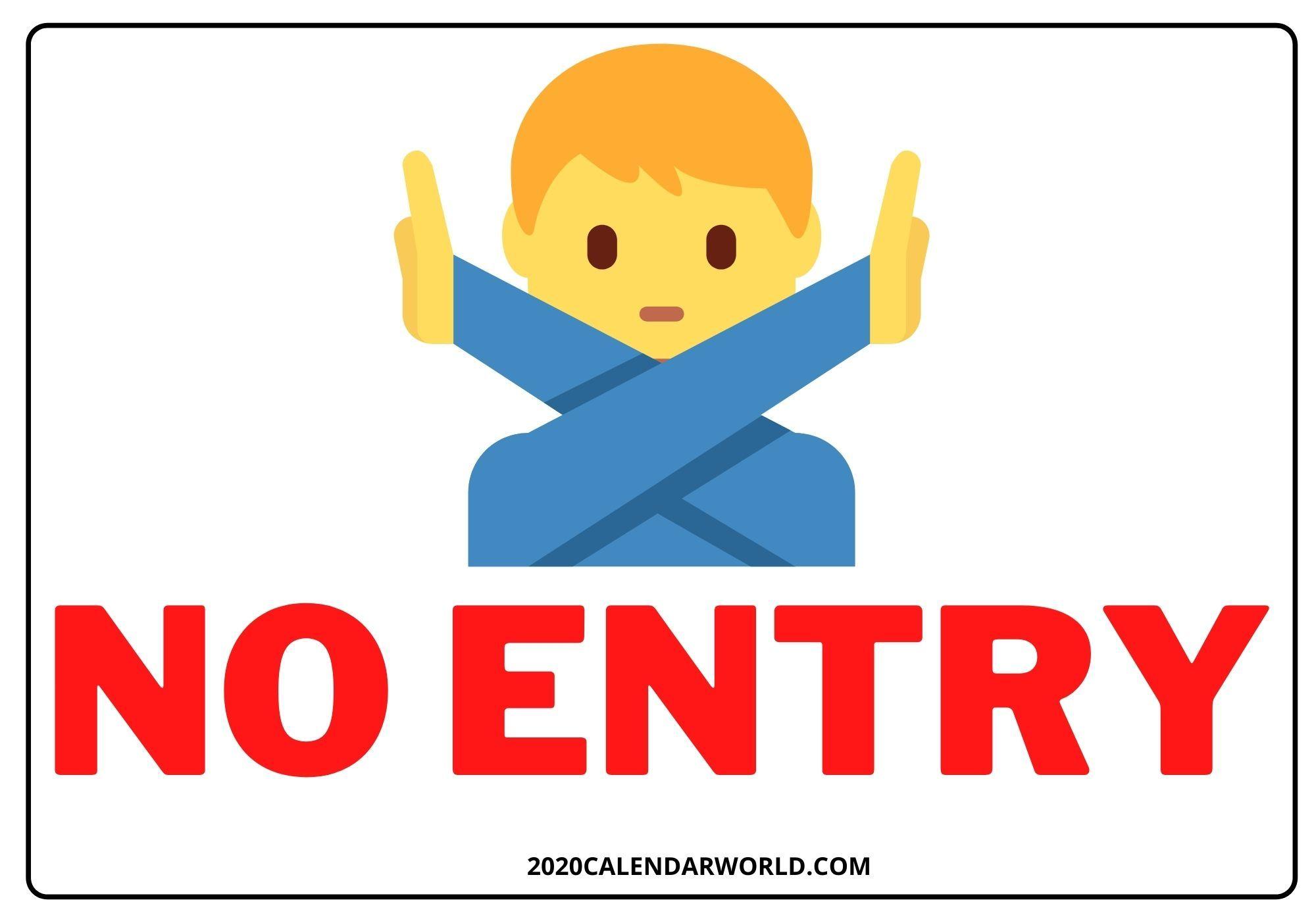 Park Art My WordPress Blog_Stop Do Not Enter Printable