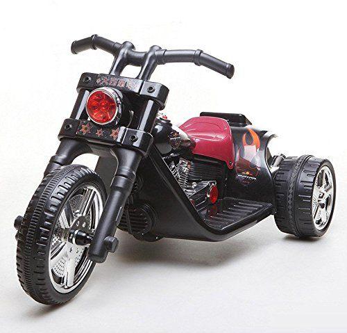 kinderfahrzeug elektro motorrad chopper 2 motoren 6v7ah schwarz bergamont e line. Black Bedroom Furniture Sets. Home Design Ideas